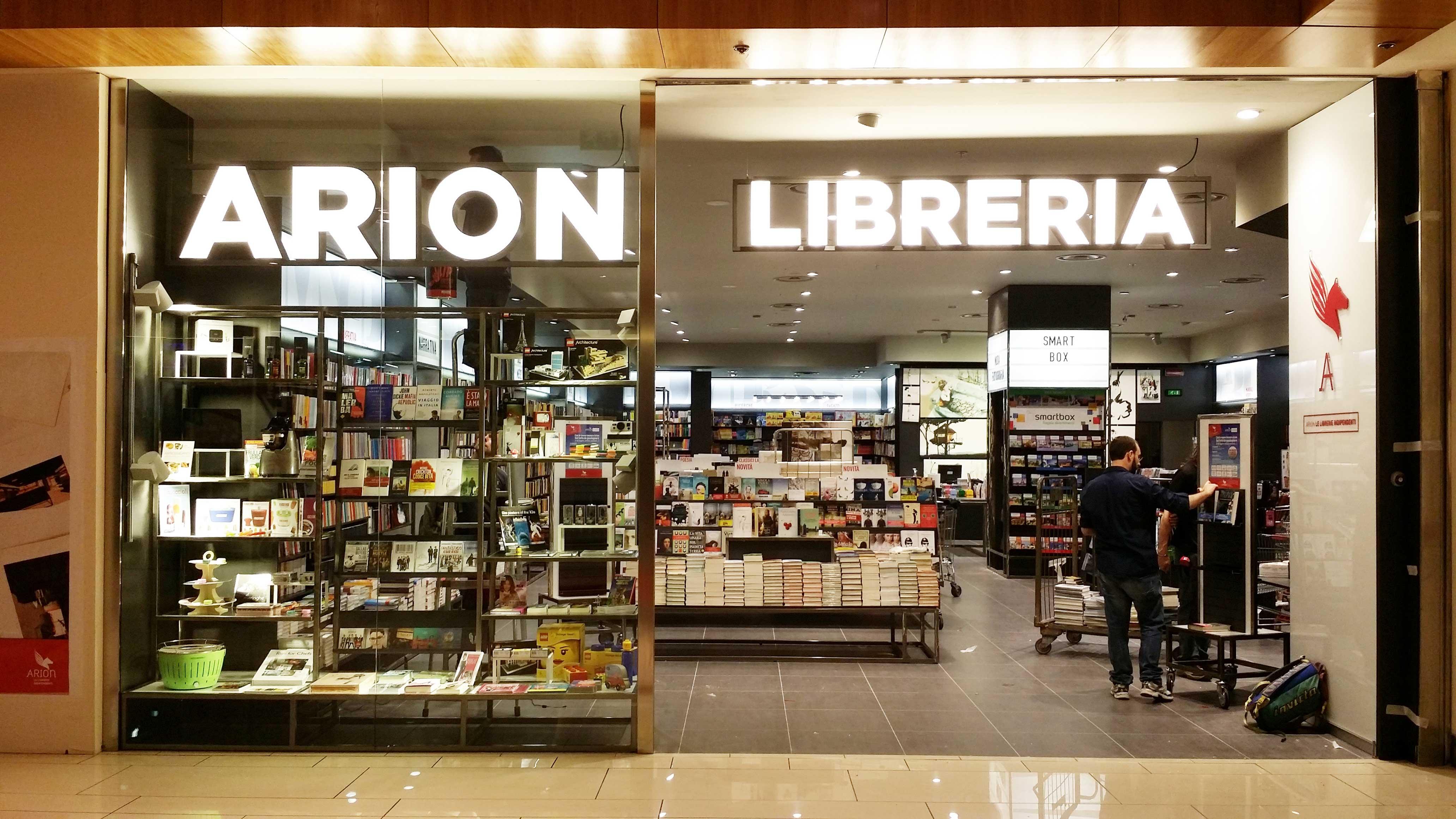 Libreria A Porta Di Roma libreria arion - c.c. porta di roma - coppola design